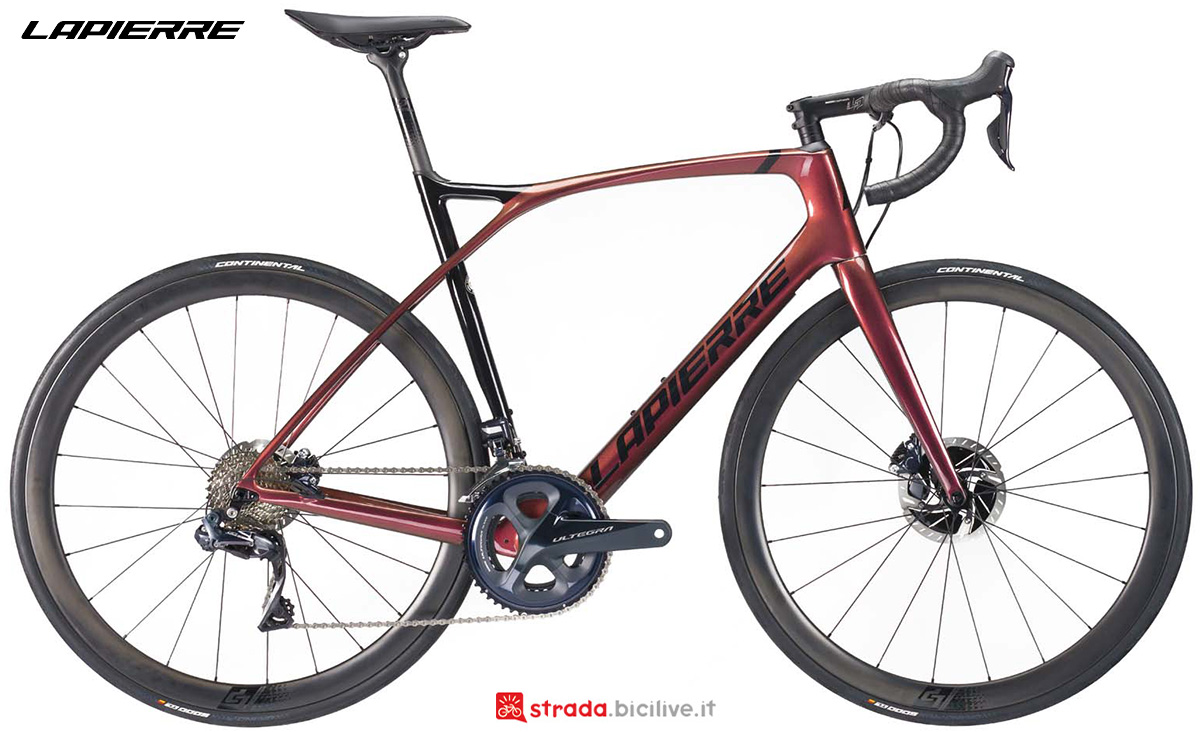 La nuova bici da strada Lapierre Xelius SL 8.0 Disc 2021