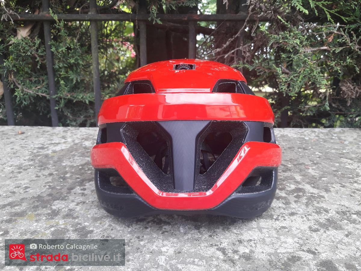 Il nuovo casco per bici da corsa Lazer Sphere 2021 vista da dietro