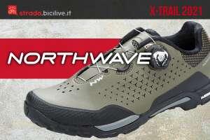 La nuova scarpa per mountainbike e bici gravel Northwave X-Trail Plus 2021