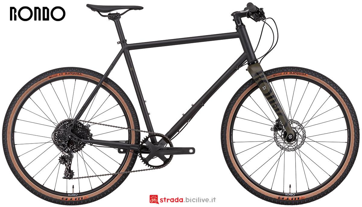 La nuova bici da strada e sterrato Rondo Bikes Booz St 2021