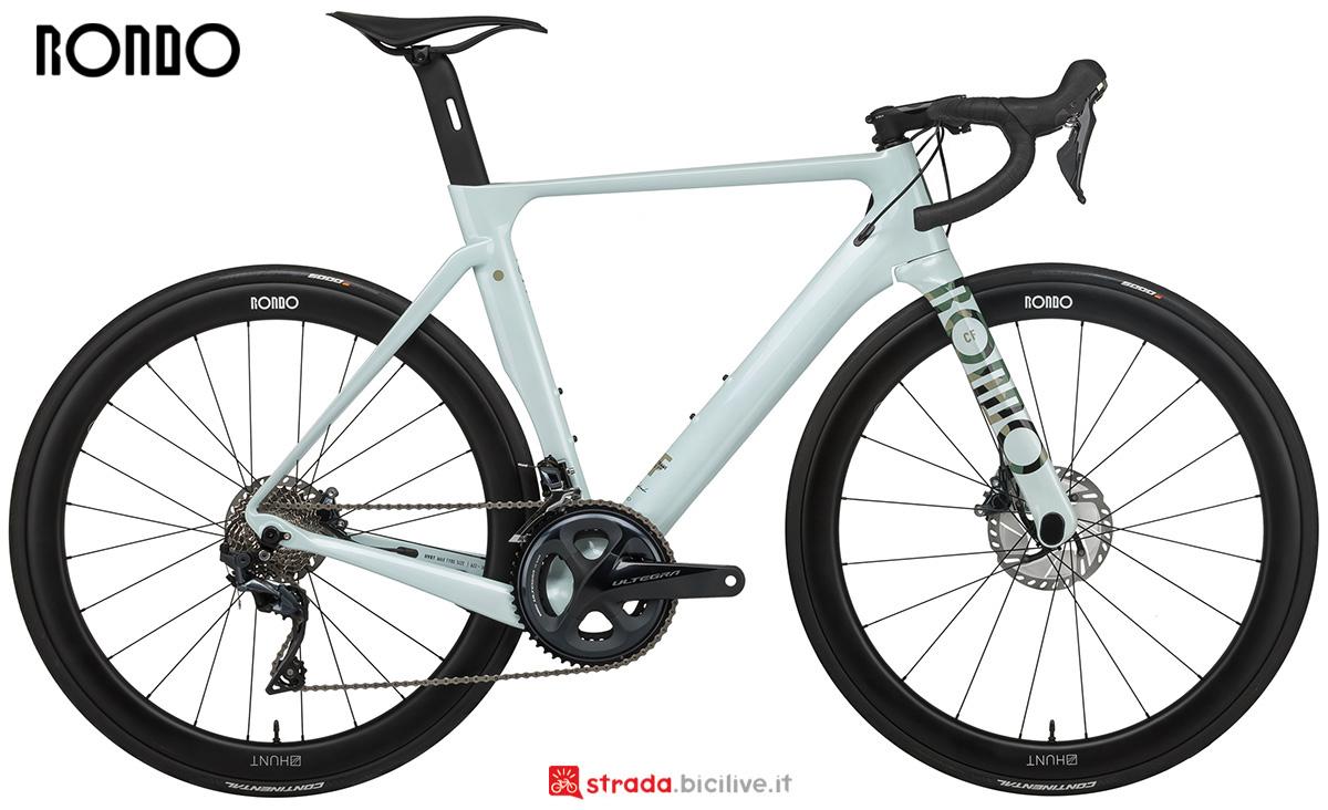 La nuova bici da corsa Rondo Hvrt Cf1 2021