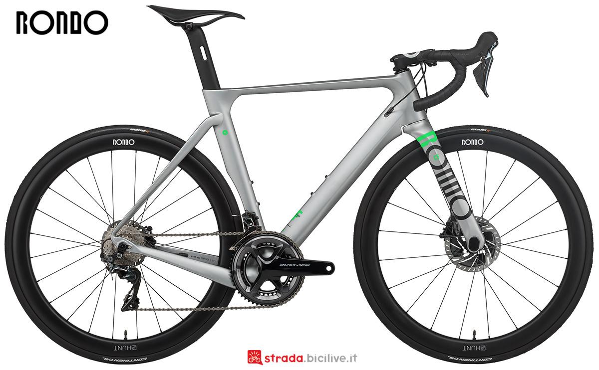 La nuova bici da corsa Rondo Hvrt Cfo 2021