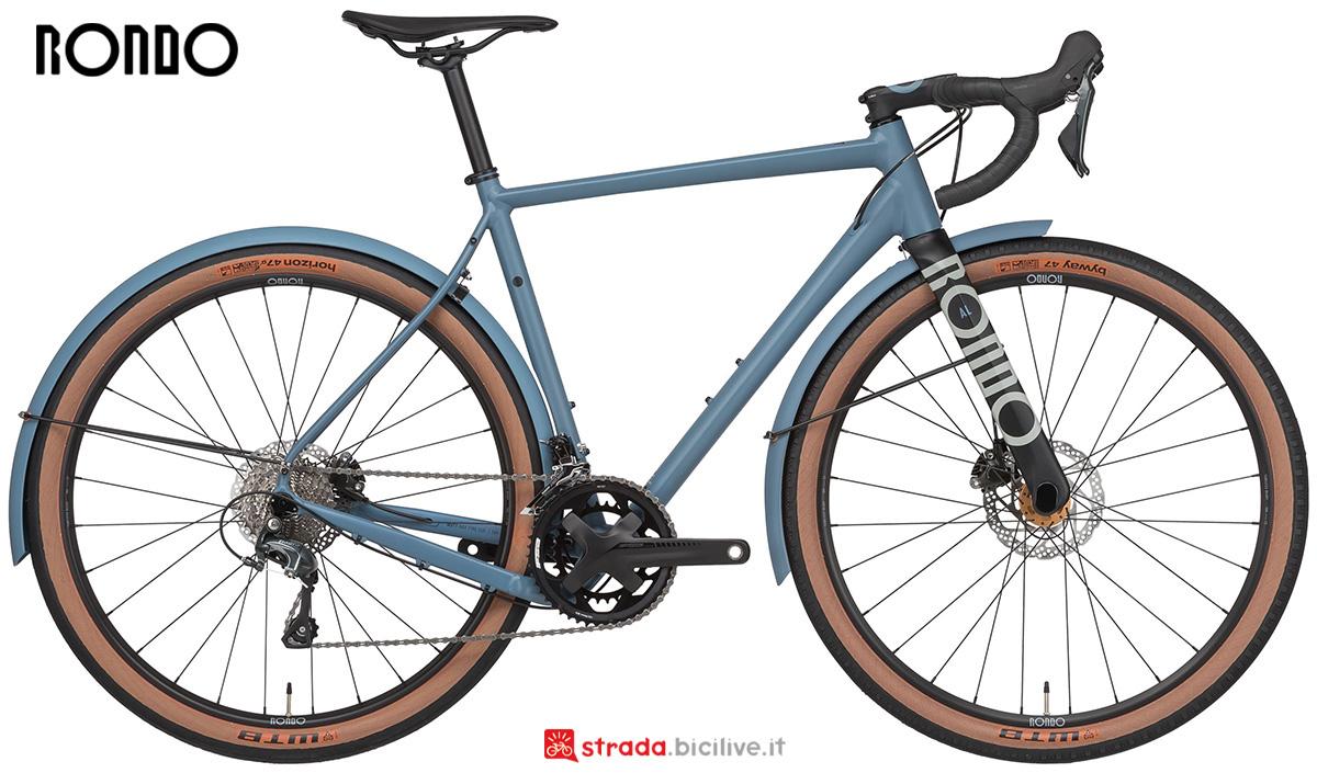La nuova bicicletta da strada Rondo Bikes Mutt Al 2021