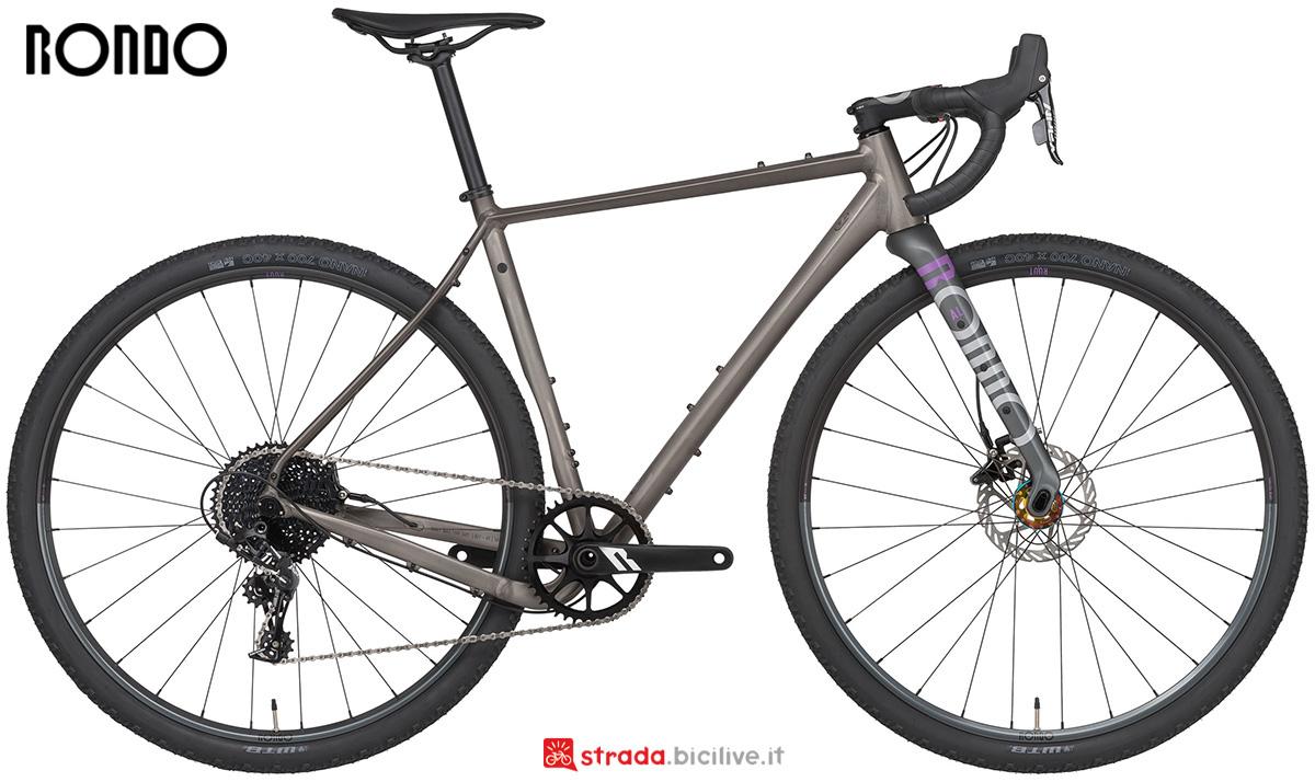 La nuova bici da gravel Rondo Ruut Al1 2021