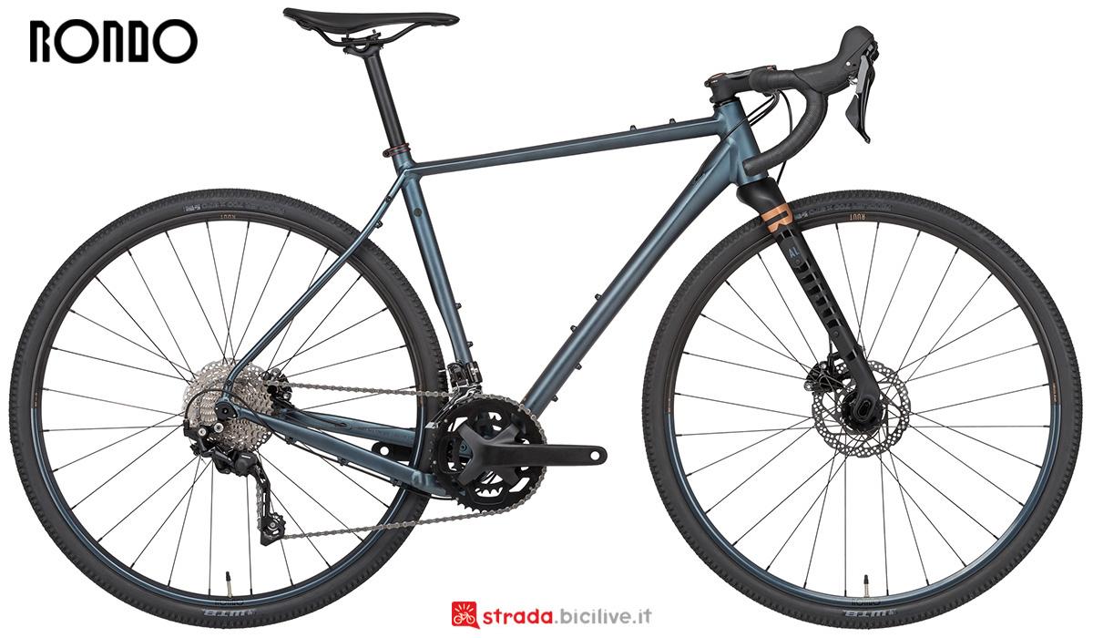 La nuova bici da gravel Rondo Ruut Al1 2x 2021