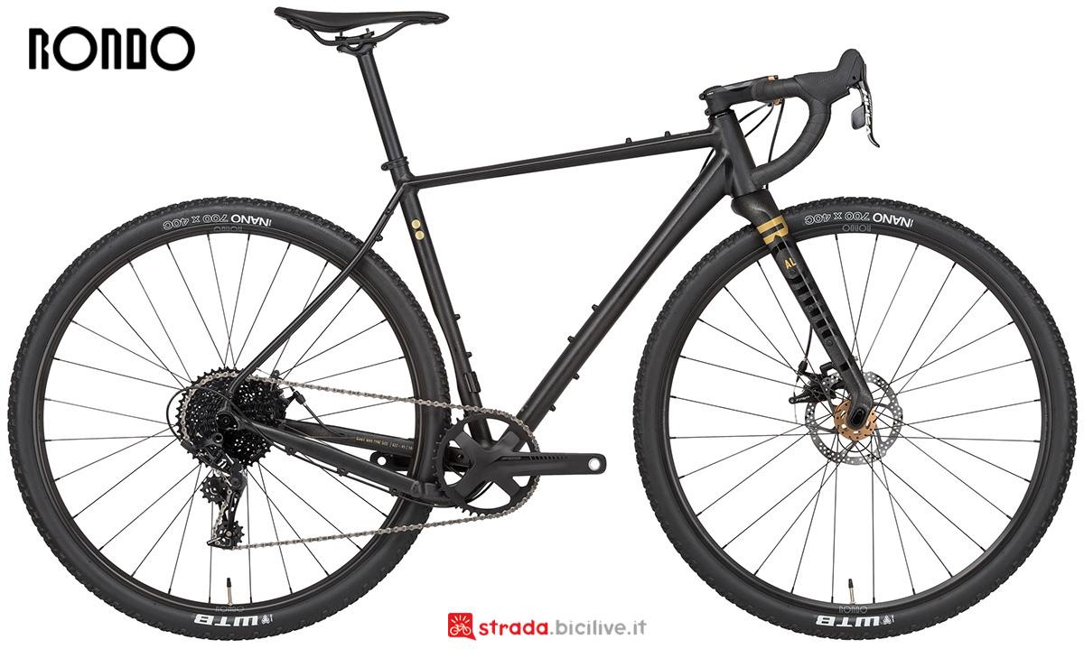 La nuova bicicletta da gravel Rondo Bikes Ruut Al2 2021