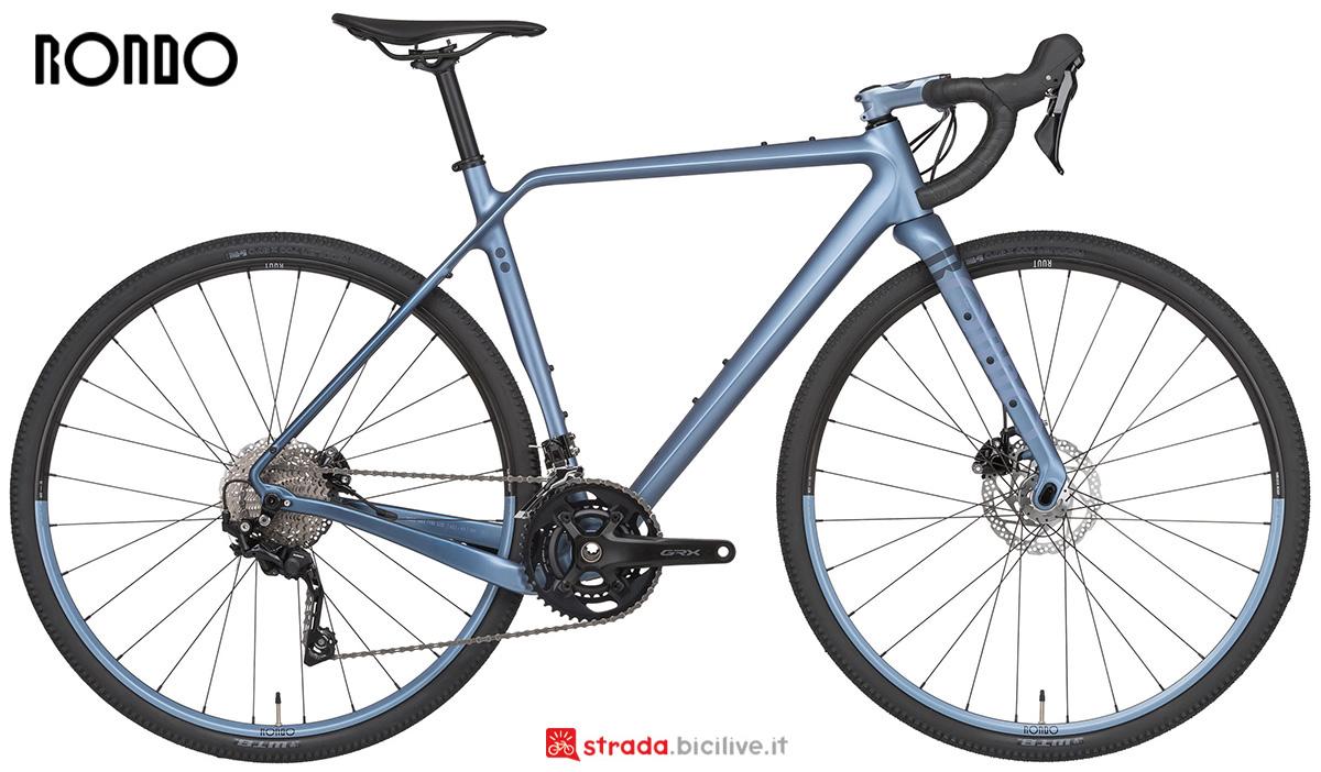 La nuova bicicletta da gravel Rondo Ruut Cf2 2X 2021