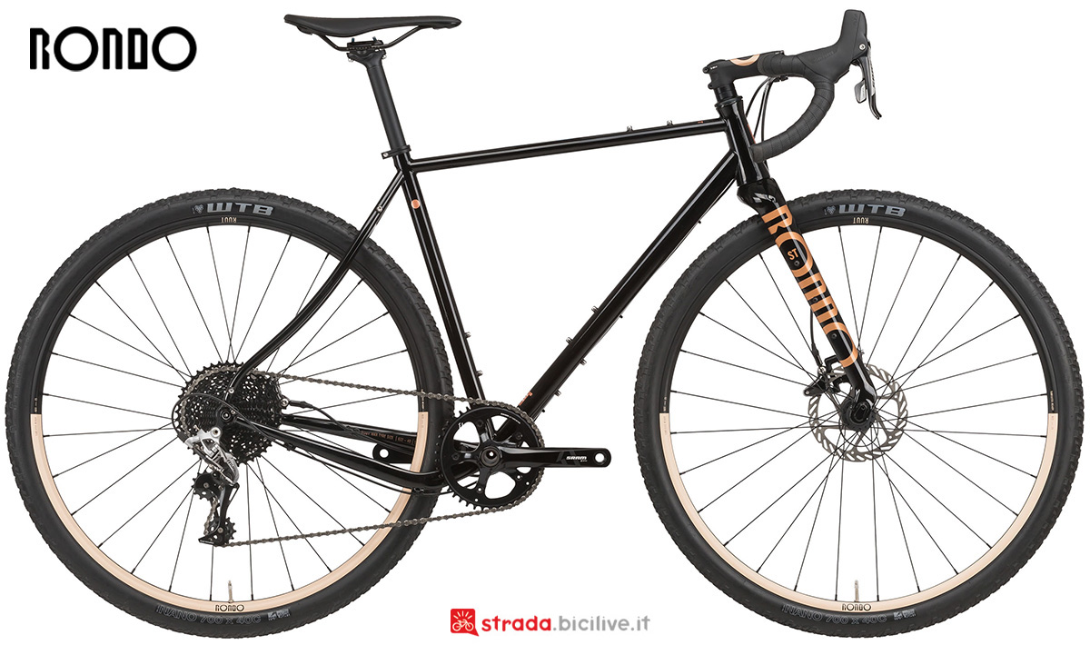 La nuova bici da gravel Rondo Ruut St1 2021