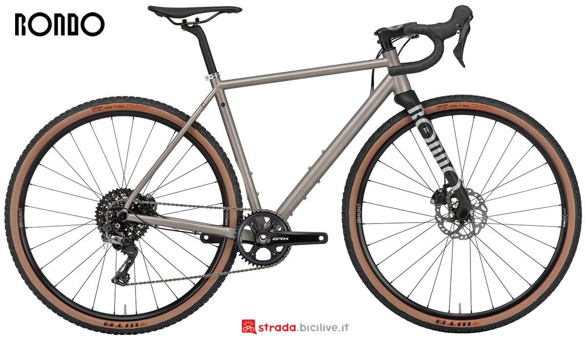 La nuova bici da gravel Rondo Ruut Ti 2021