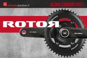La nuova trasmissione per bici da corsa Rotor Aldhu Carbon 2021