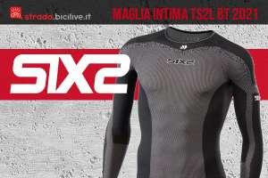 La nuova maglia tecnica intima per i ciclisti Six2 TS2L BT 2021