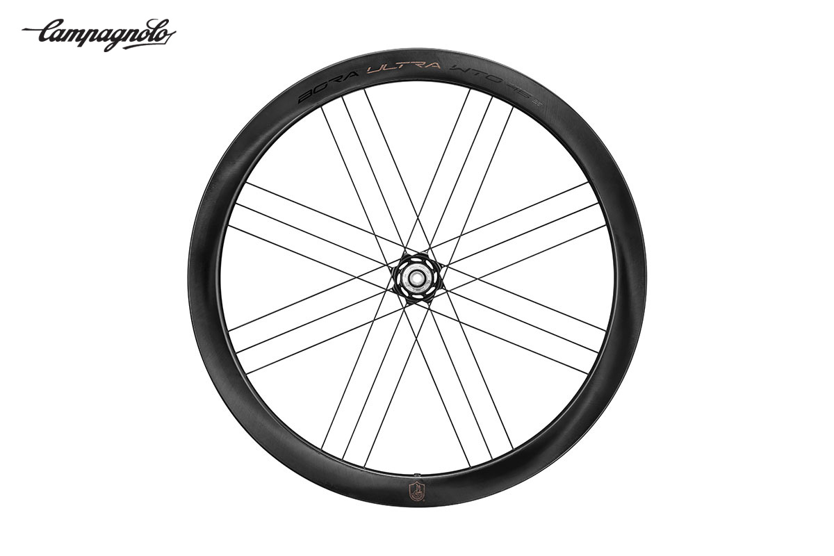 La nuova ruota per bici da strada Campagnolo Bora Ultra WTO45 2021
