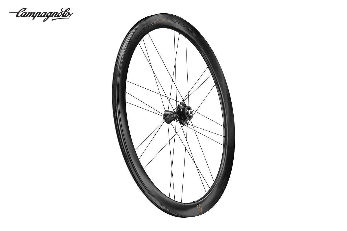 La nuova ruota per bici da corsa Campagnolo Bora Ultra WTO45 2021