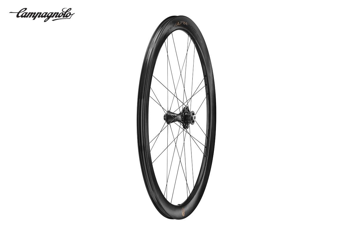 La nuova ruota superleggera per biciclette da strada Campagnolo Bora Ultra WTO45 2021