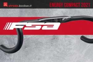 Il nuovo manubrio per biciclette da corsa FSA Energy Compact 2021