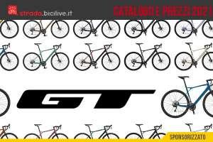 Il catalogo e i prezzi delle nuove biciclette da gravel GT 2021