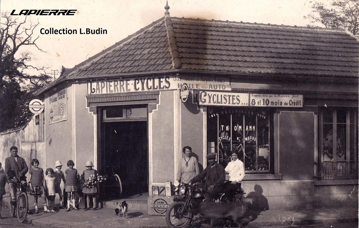 Il negozio storico di Lapierre aperto nel 1946