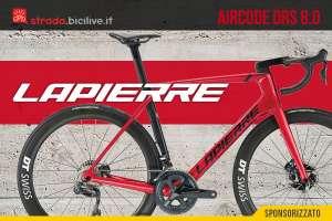 La nuova bici da strada Lapierre Aircode DRS 8.0 2021