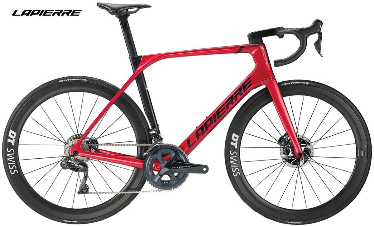 La nuova bici da corsa Lapierre Aircode DRS 8.0 vista lateralmente