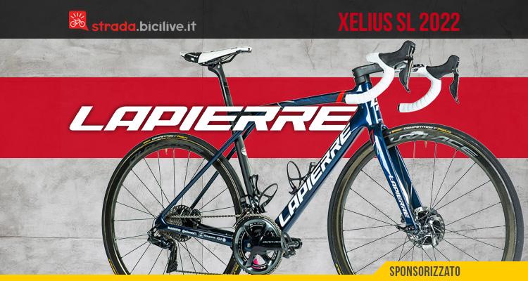 La nuova bicicletta da strada Lapierre Xelius SL 2022