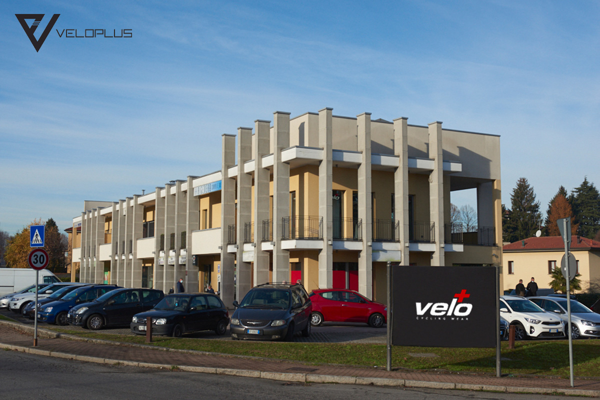 Uno scatto della sede di Veloplus a Bevera di Sirtori in provincia di Lecco