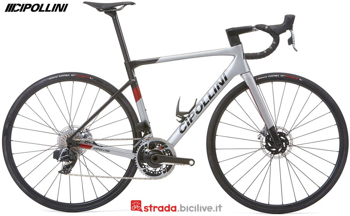 La nuova bicicletta da strada Cipollini Dolomia 2022