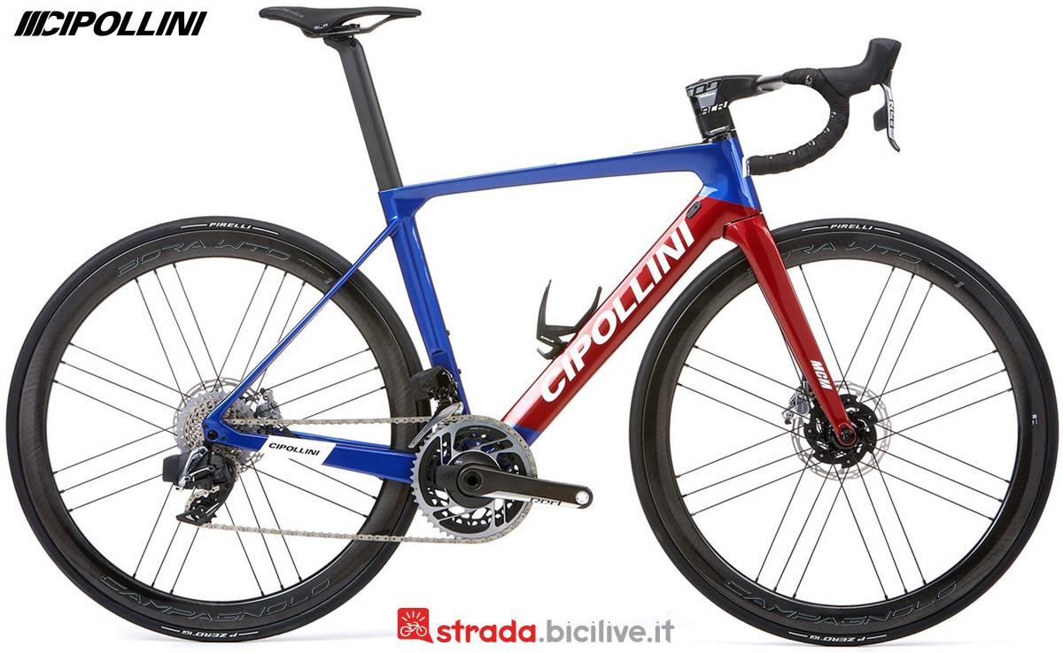 La nuova bici da corsa Cipollini MCM 2022