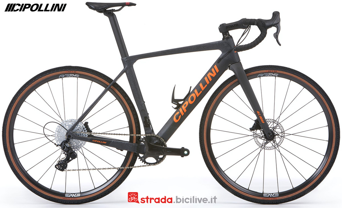 La nuova bici da gravel Cipollini MCM ALLROAD 2022