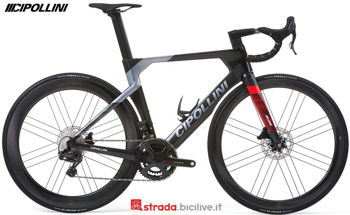 La nuova bici da strada Cipollini RB1K AD.ONE 2022