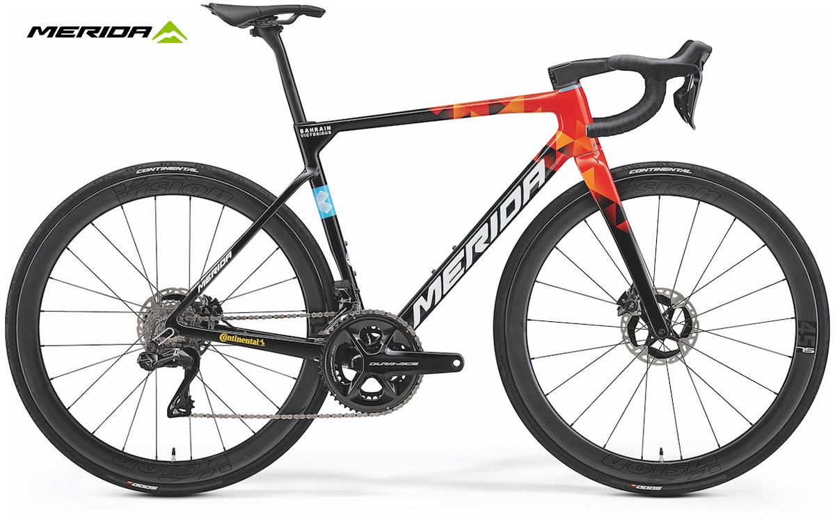 La nuova bici da strada Merida Scultura Team 2022