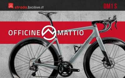 La nuova bici da corsa Officine Mattio OM1 S
