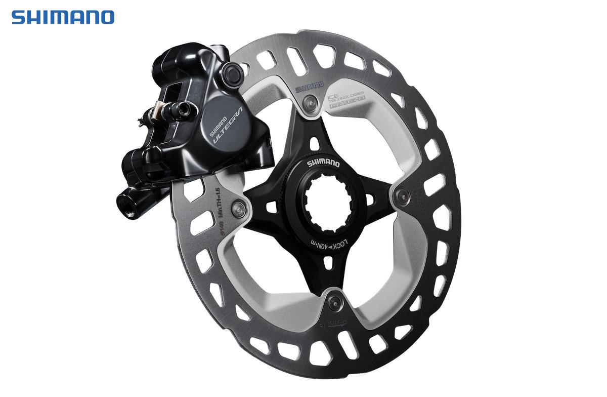 Il nuovo freno a disco del gruppo per bici da corsa Shimano Ultegra 8100 2021