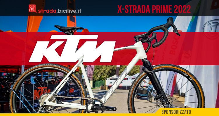 La nuova bicicletta da gravel Ktm X-Strada Prime 2022